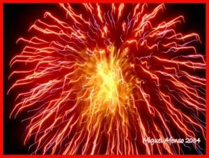 Espetáculos/Explosão de fogo!