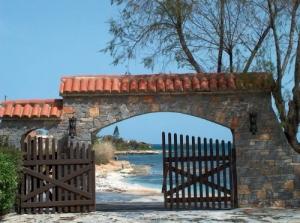 Paisagem Natural/portão para o mar...