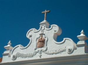 Paisagem Urbana/frontespicio de um edificio em Monsaraz