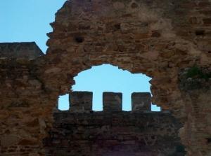 História/muralha em ruina...Monsaraz