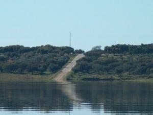 Paisagem Natural/Estrada do lago - Alqueva