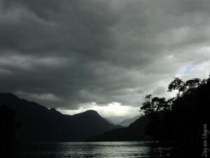 /O silencio da natureza antes da tormenta