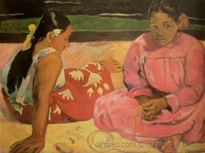 /Mulheres de Taiti na praia (1891)