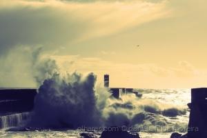 /mar agitado