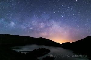 Paisagem Natural/Milky way - Lagoa do Fogo