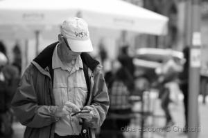 Gentes e Locais/Desligado do mundo à sua volta