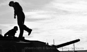 Fotojornalismo/manobras terrestres