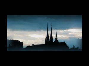 /O nascer de um novo dia no Luxemburgo
