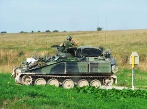 Outros/English Army Tank - England 2006