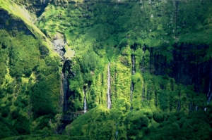 Paisagem Natural/Cascatas - Ilha das Flores - Açores