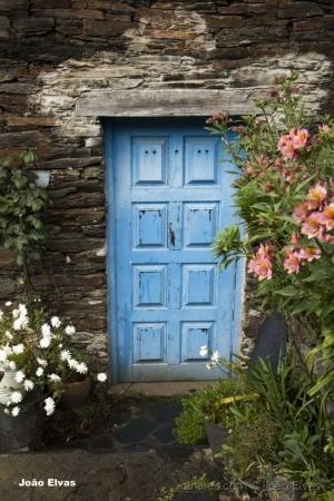 /Flores à porta