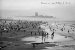 Gentes e Locais/fog on the beach