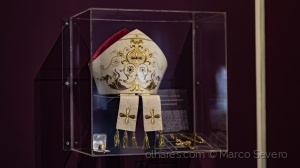 /Paramento do Bispo. Exposição Arte Sacra Diocese d