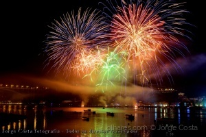 /Fireworks in Douro river1....