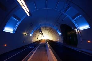 /O começo do túnel