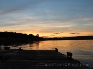 Paisagem Natural/Pier do Lago Corumbá - Goiás