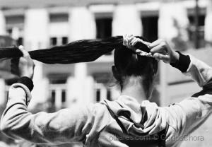 /A menina da trança preta