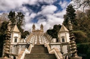"""/""""Igreja Bom Jesus do Monte - Braga, Portugal """""""