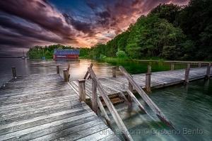 /O lago de Starnberg