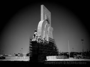 História/Monumento em obras.
