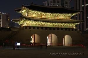/Gwanghwamun Gate - Long exposure