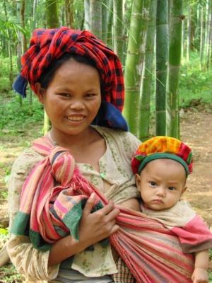 Gentes e Locais/Recebendo com um sorriso - Lago Inlé, Birmânia