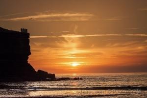 /Pôr do Sol na Praia dos Coxos