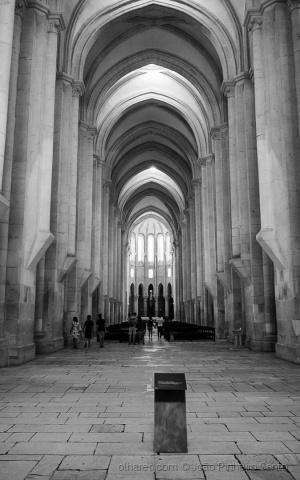 /Imponente Convento de Alcobaça