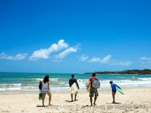 /surf em família..