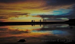 /Sunset friends