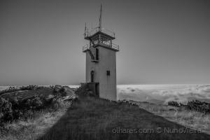 /Torre de vigia na Serra do Marão