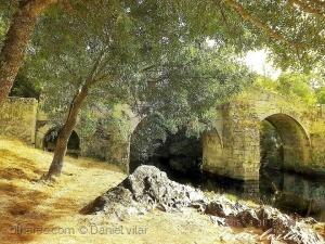 /Rio Tuela - Ponte entre San Ciprian e Hermizende.