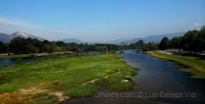 Paisagem Natural/Rio Lima a montante de Ponte de Lima