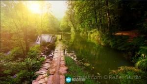 Paisagem Natural/Reflex Studio | Cascata