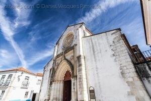 /Igreja de Santa Maria da Graça - Fachada - Santaré