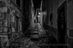 Paisagem Urbana/calçada portuguesa ...