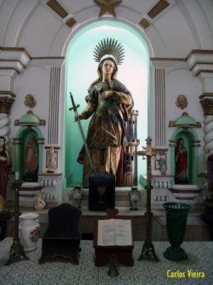 História/A Capela de Santa Bárbara