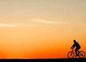 """/De """"Bike"""" ao Pôr do Sol"""