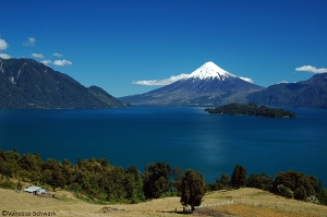 /Isla Margarita com Vulcão Osorno/Chile