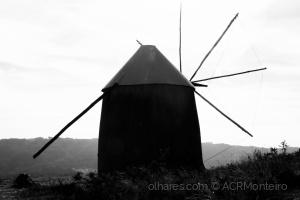 /O moinho de vento.
