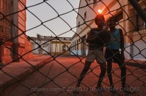 Fotojornalismo/pelada em Santiago