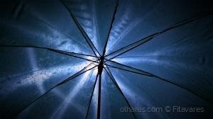 /Blue umbrella