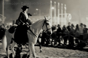/The horsewoman ...