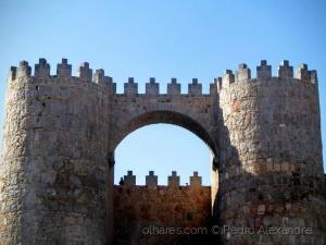História/Ameias invulgares em Ávila