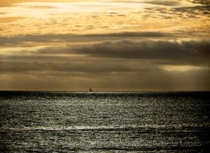 Paisagem Natural/Em dia de mar ...