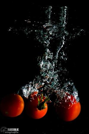 /Com os Tomates de Molho