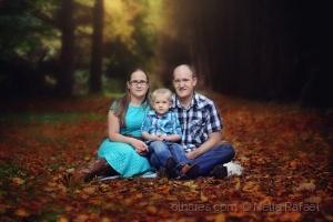 Retratos/family fall