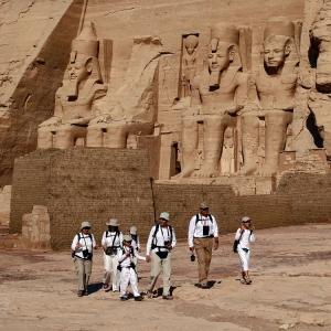 /Os exploradores de Abu Simbel