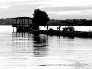 /Magia do entardecer na Lagoa encantada