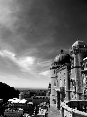 História/Palácio a P & B